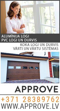 approve.lv - PVC, alumīnija, koka logi un durvis